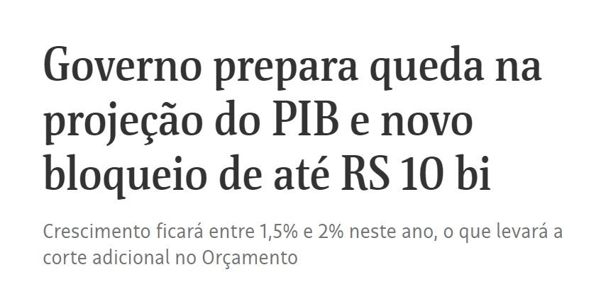 Matéria do jornal Folha de São Paulo deste terça-feira (14.05).